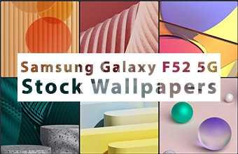 Samsung Galaxy F52 5G Stock Wallpapers
