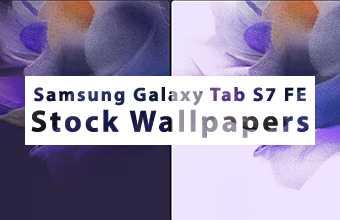 Samsung Galaxy Tab S7 FE Stock Wallpapers