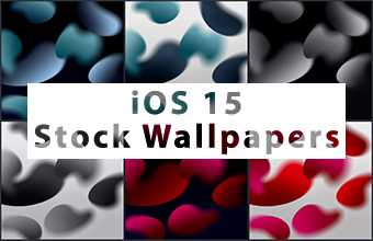 iOS 15 Stock Wallpapers