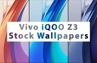 Vivo iQOO Z3 Stock Wallpapers