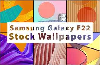 Samsung Galaxy F22 Stock Wallpapers