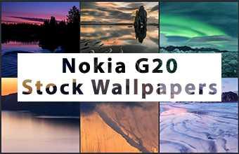 Nokia G20 Stock Wallpapers