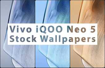 Vivo iQOO Neo 5 Stock Wallpapers