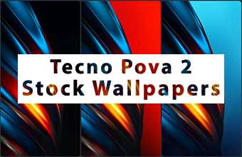 Tecno Pova 2 Stock Wallpapers