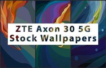 ZTE Axon 30 Stock Wallpapers