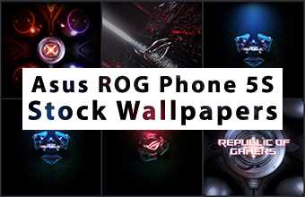 Asus ROG Phone 5S Stock Wallpapers
