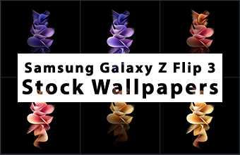 Samsung Galaxy Z Flip 3 Stock Wallpapers