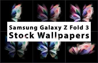 Samsung Galaxy Z Fold 3 Stock Wallpapers
