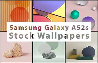 Samsung Galaxy A52s Stock Wallpapers