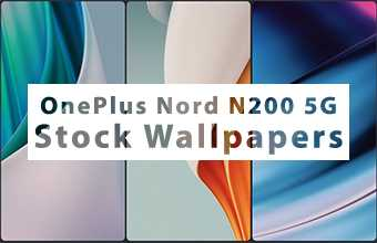 OnePlus Nord N200 5G Stock Wallpapers