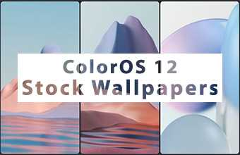 ColorOS 12 Stock Wallpapers